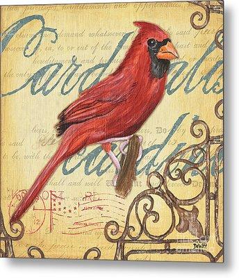 Pretty Bird 1 Metal Print by Debbie DeWitt