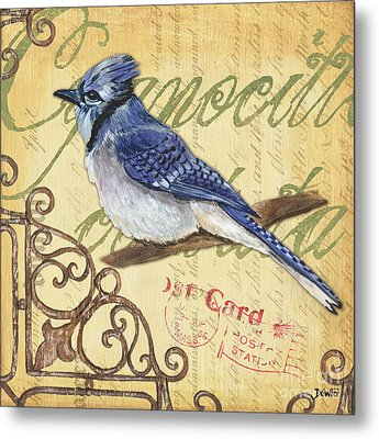 Pretty Bird 4 Metal Print by Debbie DeWitt