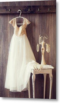 Pretty Dress Metal Print by Amanda Elwell