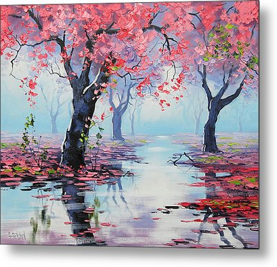 Pretty In Pink Metal Print by Graham Gercken