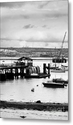 Priddy's Hard Boats Metal Print by Terri Waters