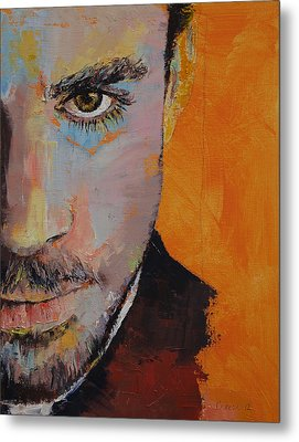 Priest Metal Print by Michael Creese