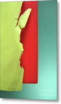 Primary Metal Print by CML Brown