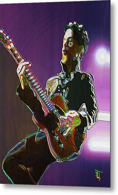 Prince Metal Print by  Fli Art