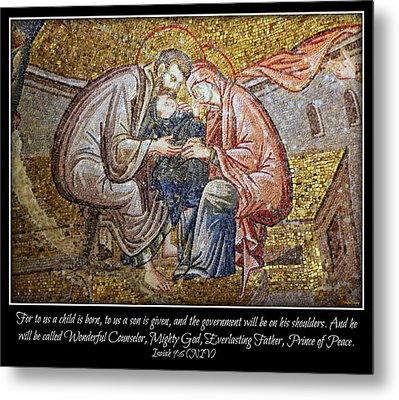Prince Of Peace Metal Print by Stephen Stookey