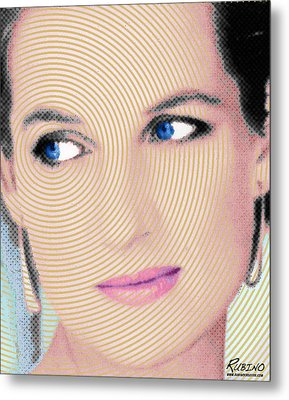 Princess Lady Diana Metal Print by Tony Rubino