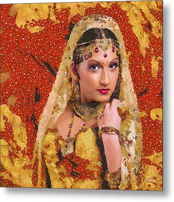Princess Of Spice Metal Print by Marina Likholat