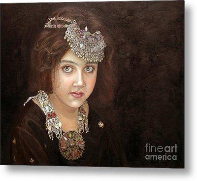 Princess Of The East Metal Print by Enzie Shahmiri