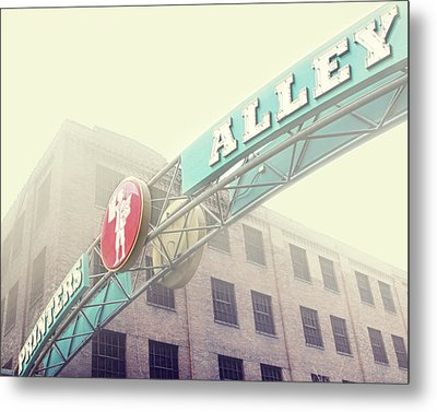Printers Alley Metal Print by Amy Tyler