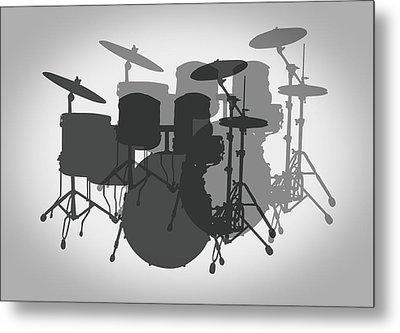Pro Drum Set Metal Print by Daniel Hagerman