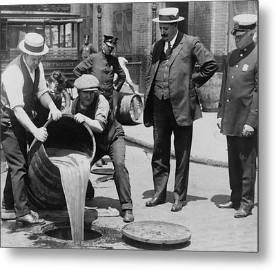 Prohibition In The Usa Metal Print by Unknown