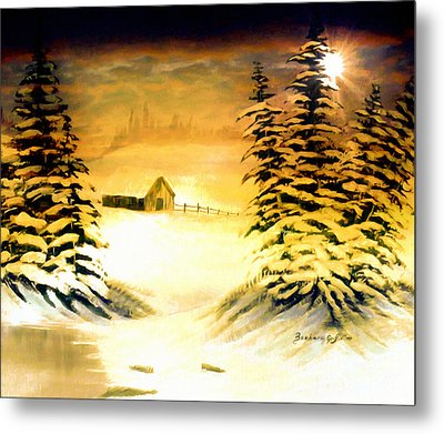 Promises Of A Brighter Day Metal Print by Barbara Griffin