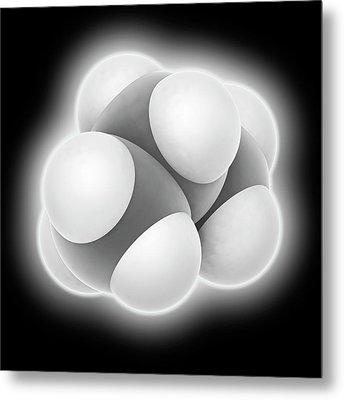 Propane Molecule Metal Print by Laguna Design