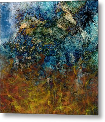 Prophecy Metal Print by Christopher Gaston