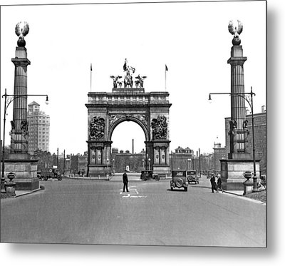 Prospect Park In Brooklyn Metal Print by Underwood Archives