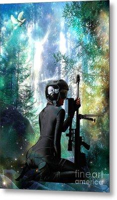 Protection Metal Print by Tammera Malicki-Wong