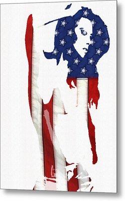 Proud Girl Metal Print by Steve K