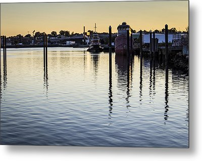 Providence Waterfront Metal Print by Andrew Pacheco