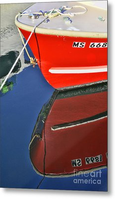 Provincetown Harbor Reflection Metal Print by Allen Beatty
