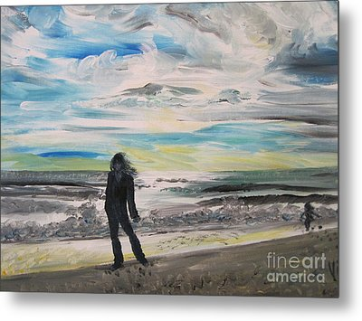 Ptg.   Will She Still Remember Metal Print by Judy Via-Wolff