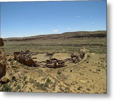 Pueblo Bonito From Above Metal Print by Feva  Fotos