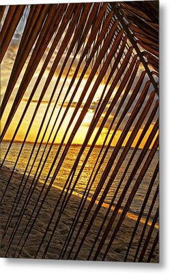 Puerto Rico Sunset 2 Metal Print by Stephen Anderson