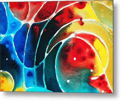 Pure Joy 2 - Abstract Art By Sharon Cummings Metal Print by Sharon Cummings