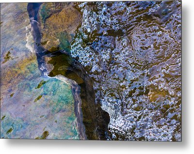 Purl Of A Brook 1 - Featured 3 Metal Print by Alexander Senin