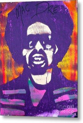 Purple Mac Dre Metal Print by Tony B Conscious