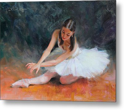 Pursuit Of Perfection Metal Print by Anna Rose Bain