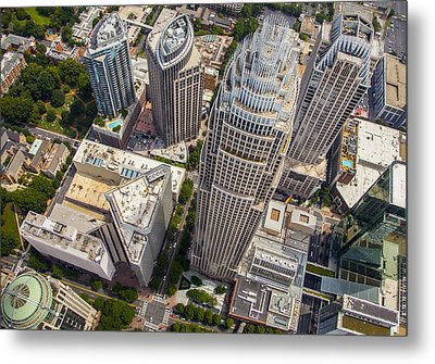 Qc Perspective Metal Print by Chris Austin