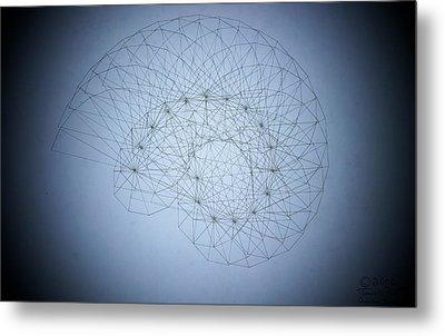 Quantum Nautilus Spotlight Metal Print by Jason Padgett