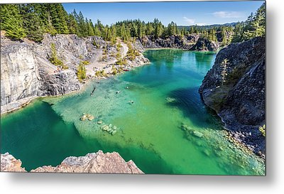 Quarry Lake British Columbia Metal Print by Pierre Leclerc Photography