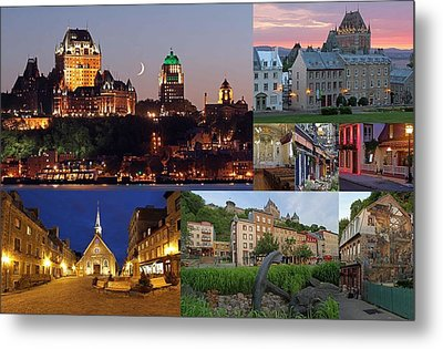 Quebec City Metal Print by Juergen Roth
