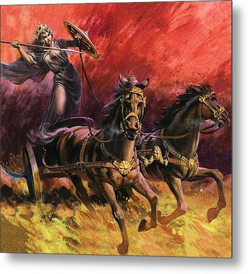 Queen Boadicea Metal Print by Andrew Howat