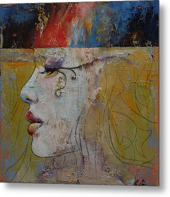 Queen Metal Print by Michael Creese