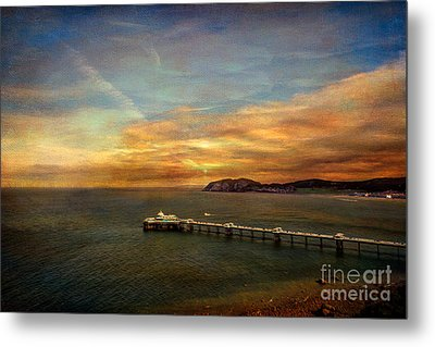 Queen Of The Welsh Resorts Metal Print by Adrian Evans
