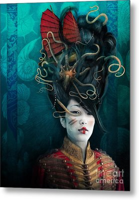 Queen Of The Wild Frontier Metal Print by Aimee Stewart