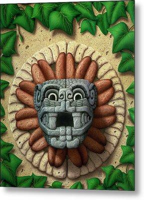 Quetzalcoatl Metal Print by WB Johnston