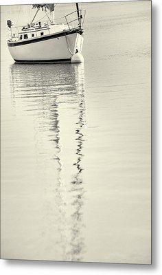 Quiet Water Metal Print by Karol Livote