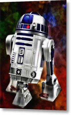 R2d2 Metal Print by Todd and candice Dailey