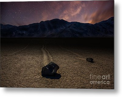 Racetrack Playa Metal Print by Deryk Baumgaertner