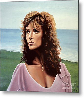Rachel Ward Metal Print by Paul Meijering