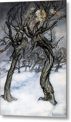 Rackham: Whisper Trees Metal Print by Granger