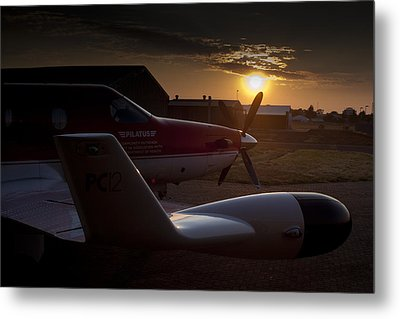 Radar Wing Metal Print by Paul Job