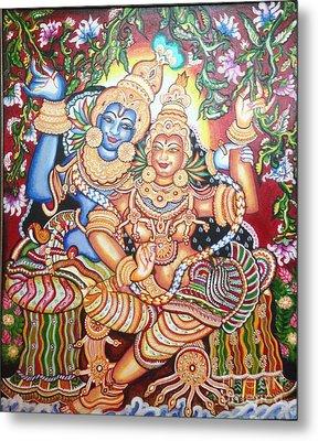 Radheshyam Metal Print by Jayashree