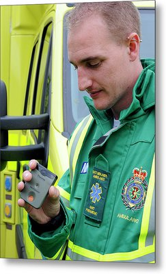 Radiation Emergency Response Monitoring Metal Print by Public Health England