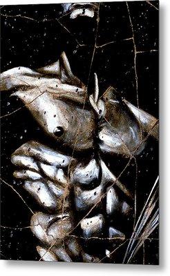 Rafael - Study No. 1 Metal Print by Steve Bogdanoff