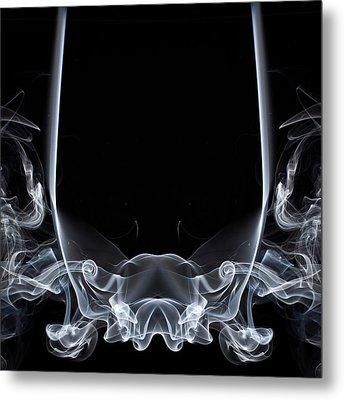 Raging Bull 1 Metal Print by Steve Purnell