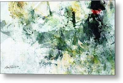 Ragtime Abstract  Art  Metal Print by Ann Powell